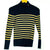 Ralph Lauren Blue and Gold Striped Turtle Neck (Ralph Lauren)