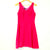 Hot Pink A-Line Dress (Raymond)