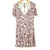 Lilac Floral Print Summer Dress (Socialite)