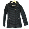 Michael Kors Black Puffer pack-able Coat