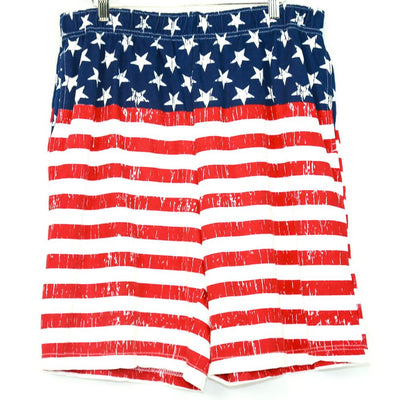 American Flag Cloth Shorts New2You LX New2Youlx