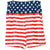 American Flag Cloth Shorts