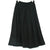 Black High Waist Panel Bell Skirt (Front Row)