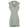 BEBE Grey Bodycon Dress