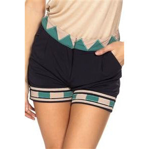 Boho Geo Print Shorts - New2You Lx