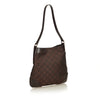 Gucci leather Trim Canvas Hobo Bag