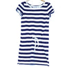 Ann Taylor : Loft Cream/Navy Striped T-shirt Dress