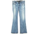 Express Dark Wash Bootcut Jeans