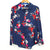 Pop Sugar Navy Floral Button Blouse