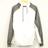 CSG White Zip Up Athletic Hoodie