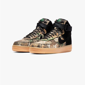 "Men's Nike Air Force 1 High Realtree ""Brown Camo"" - New2youlx.com"