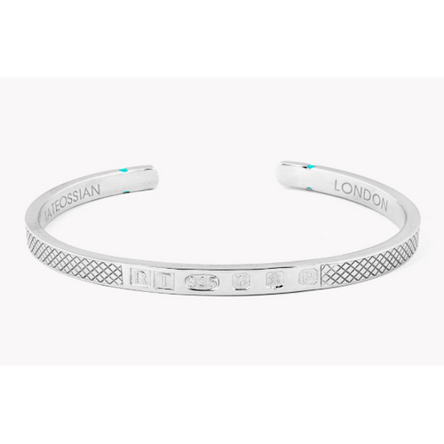 Limited Edition Silver Hallmark Bangle