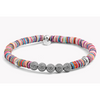 Seychelles Mesh Silver Bracelet In Multicolour (Tateossian London) - New2Youlx