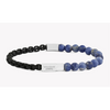 Coco Silver Beaded Chain Bracelet With Sodalite - New2You Lx