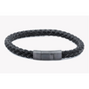 Click Tocco Silver Bracelet - Black & Grey - New2You Lx