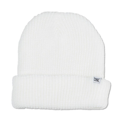 White Knit Beanie New2You LX