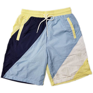 Sky Blue Nylon Short