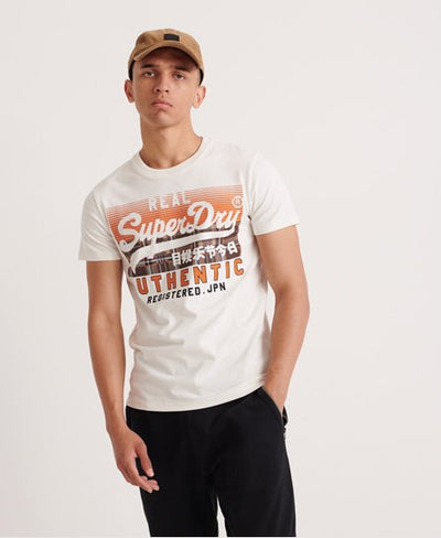 Superdry Vintage Authentic Check Tee (Superdry)