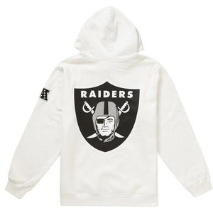 Polar White NFL x Raiders x '47 Hooded Sweatshirt
