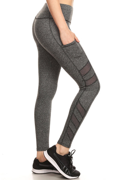 High Waist Banded Workout Leggings