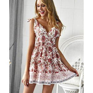 Floral Printed Summer Dress (New 2 You Lx) - New2Youlx