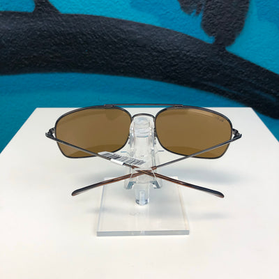 Ray Ban Gun Brown Sunglasses