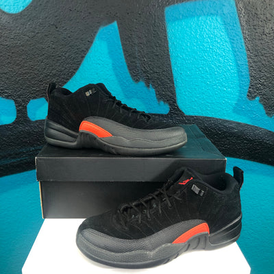 Air Jordan 12 Retro Low BG 'Black Max Orange'