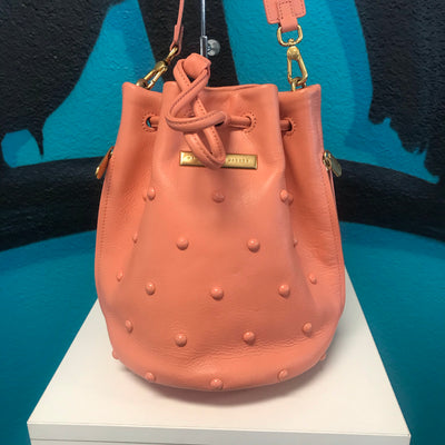 Marc Jacobs Coral Studded Bucket Bag