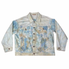 Free People Tie Dye Denim Jacket