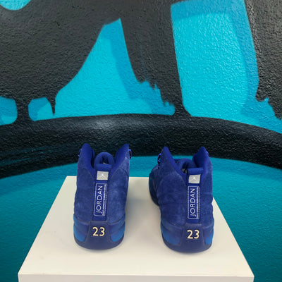 Air Jordan 12 Retro BG 'Deep Royal'