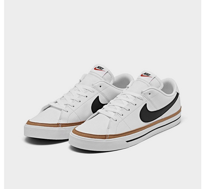 NIKE Court Legacy Leather Canvas Sneaker