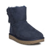 UGG Mini Bailey Bow LI Shimmer Navy