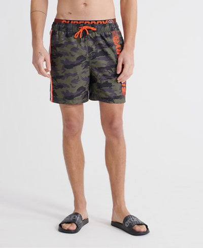 SuperDry Camouflage State Volley Swim Shorts