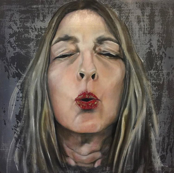 DADE LOFT artist Allison Morgan (self portrait)