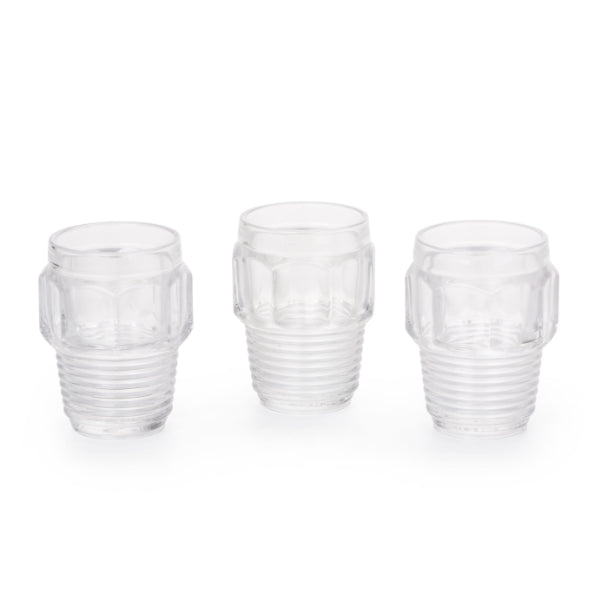 machine collection drinking glasses