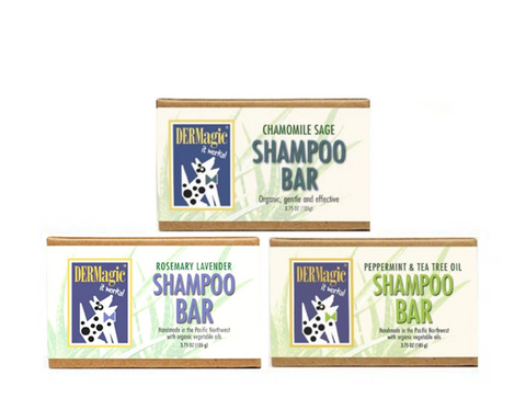 DERMagic Certified Organic Pet Shampoo Bars