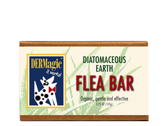DERMagic Flea Bar Shampoo Bar - Diatomaceous Earth