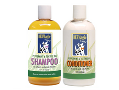 DERMagic Peppermint & Tea Tree Oil Shampoo & Conditioner SET