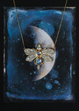 LUNA MOTH NECKLACE - AVAILABLE FOR CUSTOM ORDER