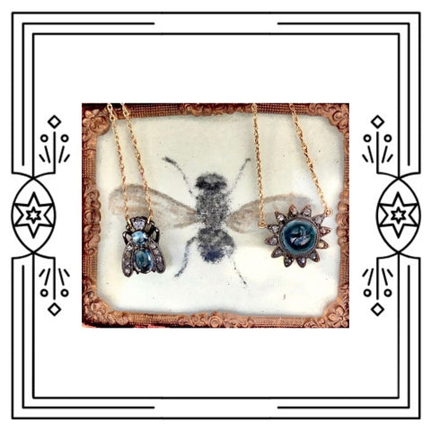 LONDON BLUE TOPAZ BUG