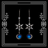 CELESTIAL MOON EARRINGS