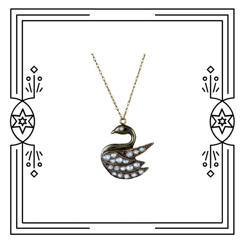 AMONG MY SWAN NECKLACE (PRE-ORDER)