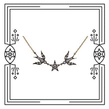 Load image into Gallery viewer, BIRD STAR NECKLACE (PRE-ORDER)