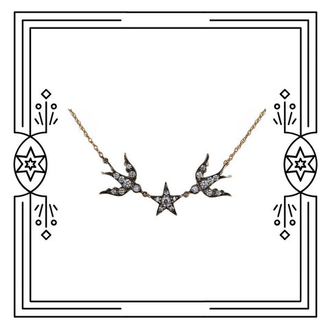 BIRD STAR NECKLACE