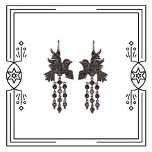 Load image into Gallery viewer, BAROQUE BIRD EARRINGS (PRE-ORDER)