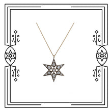 Load image into Gallery viewer, FANCY STAR NECKLACE - DIAMONDS