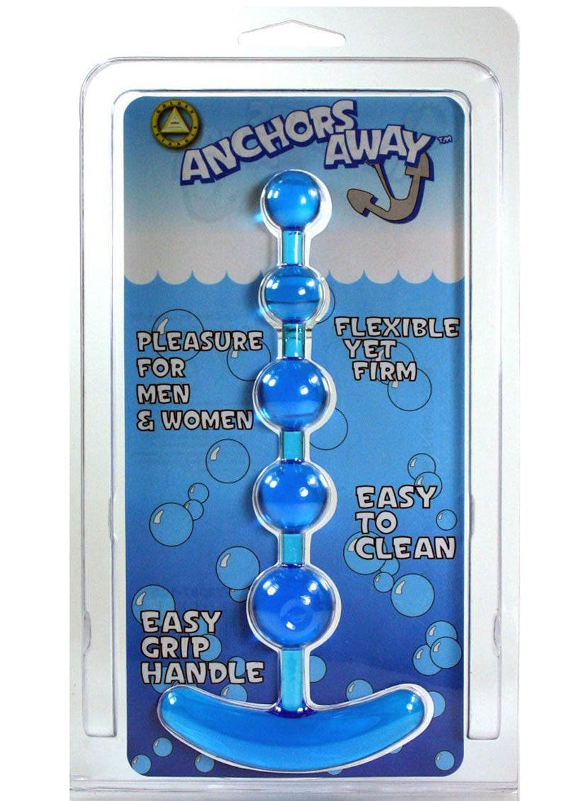 Anchors Away Anal Beads Blue