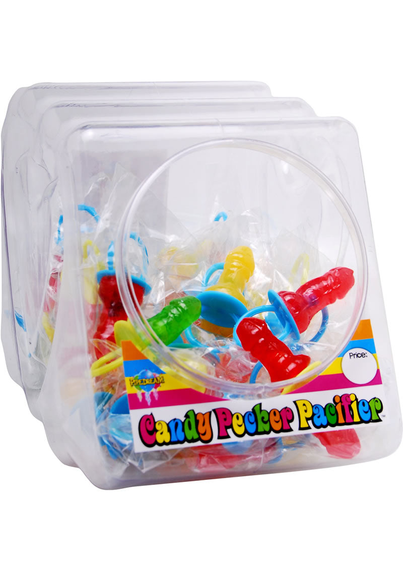 Bachelorette Party Favors Candy Pecker Pacifier 48 Per Bowl Assorted Flavors