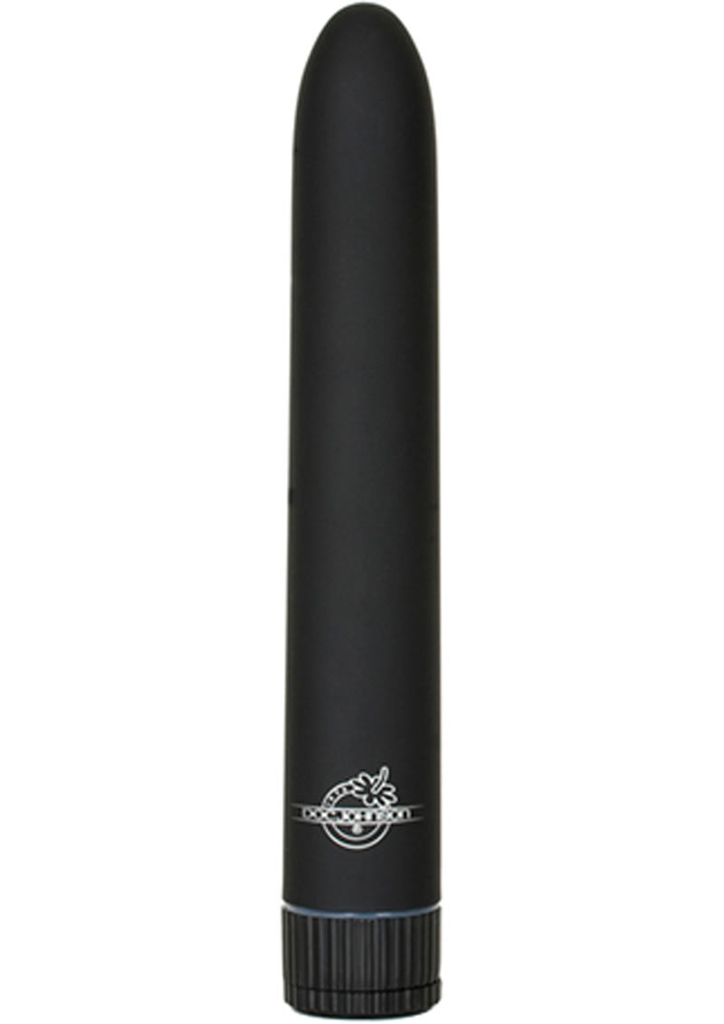 Black Magic Velvet Touch Vibrator Waterproof 7 Inch Black