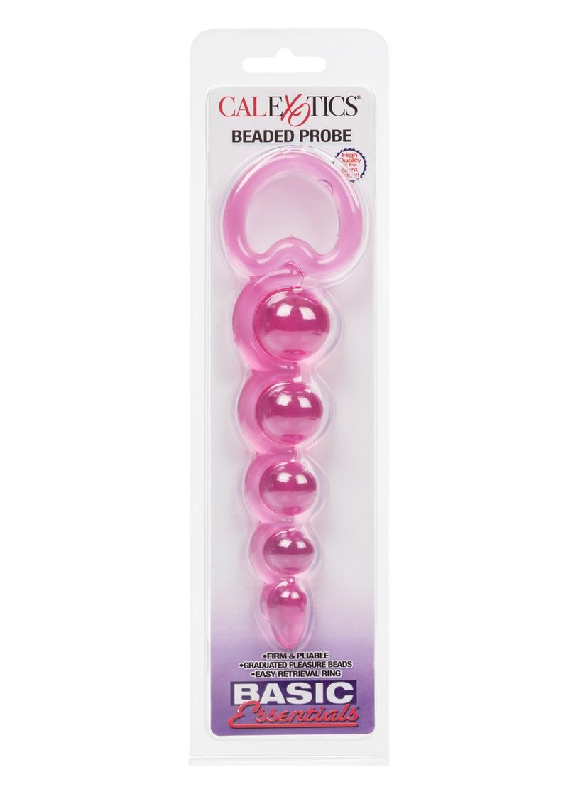 Basic Essentials Beaded Probe 5.5 Inch Pink